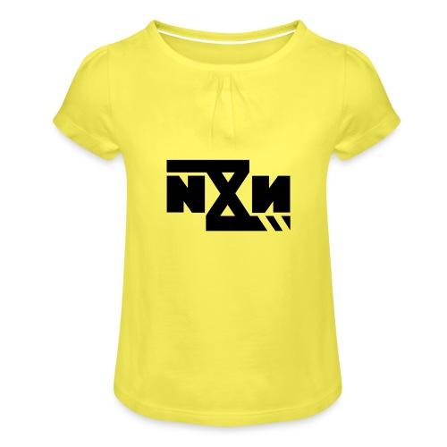 N8N Bolt - Meisjes-T-shirt met plooien