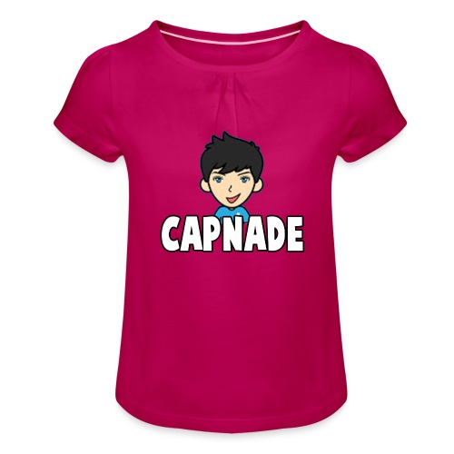 Basic Capnade's Products - Girl's T-Shirt with Ruffles