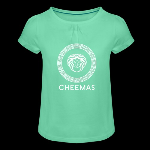 CHEEMAS - T-shirt à fronces au col Fille