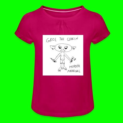 Murder Madrigals - Girl's T-Shirt with Ruffles