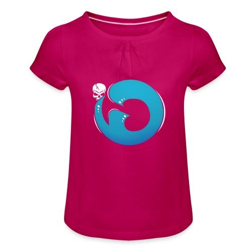 Logo iG | Team Esport - T-shirt à fronces au col Fille