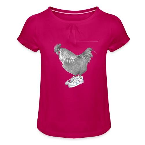 cocorico - T-shirt à fronces au col Fille