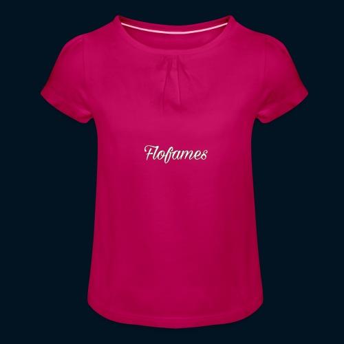 camicia di flofames - Maglietta da ragazza con arricciatura