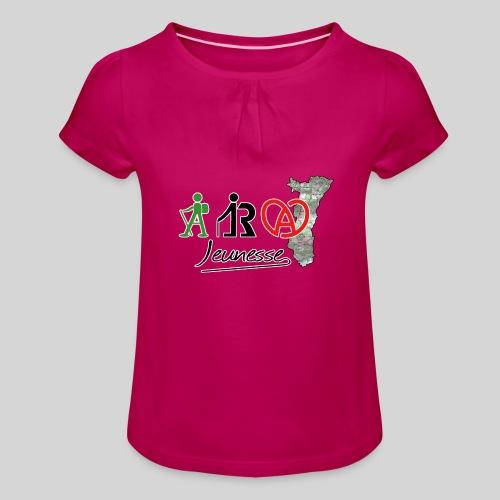 ARA Jeunesse - T-shirt à fronces au col Fille
