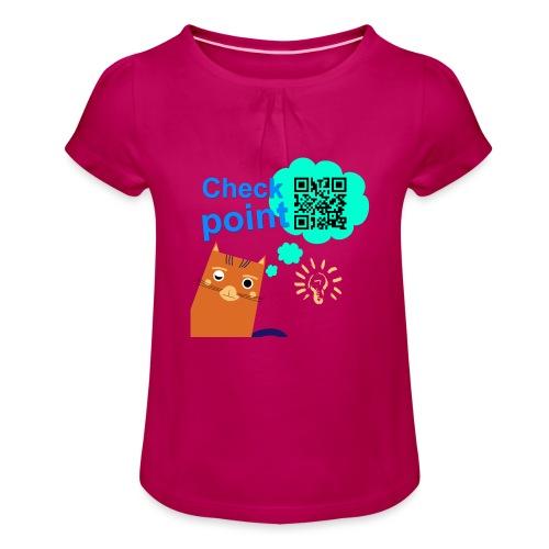 Duna Checkpoint - Jente-T-skjorte med frynser