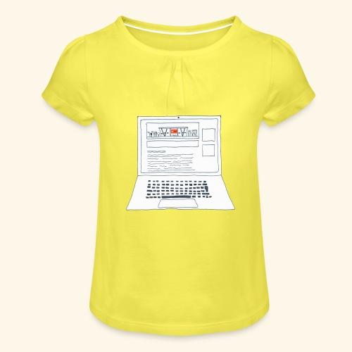 Laptop 20CENT Retail - T-shirt à fronces au col Fille