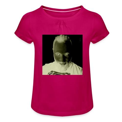 Viking I - Mädchen-T-Shirt mit Raffungen