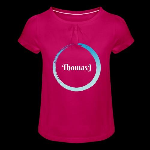 ThomasJ 2018 Deluxe Edition - Maglietta da ragazza con arricciatura