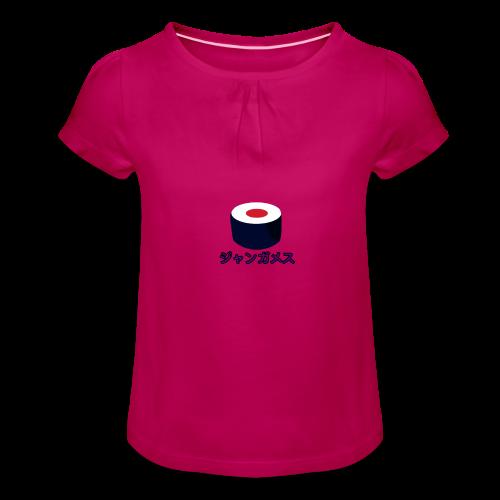 Sushi Jangames - Meisjes-T-shirt met plooien