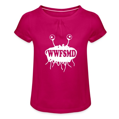 WWFSMD - Girl's T-Shirt with Ruffles