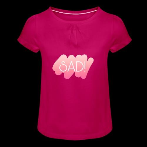 New t-shirt for music lover - T-shirt à fronces au col Fille