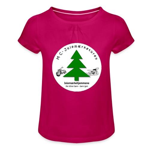 MCJul - Pige T-shirt med flæser