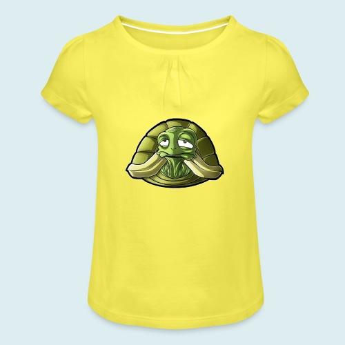 turtle - Maglietta da ragazza con arricciatura