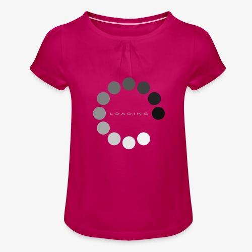 loading 1 - Koszulka dziewczęca z marszczeniami