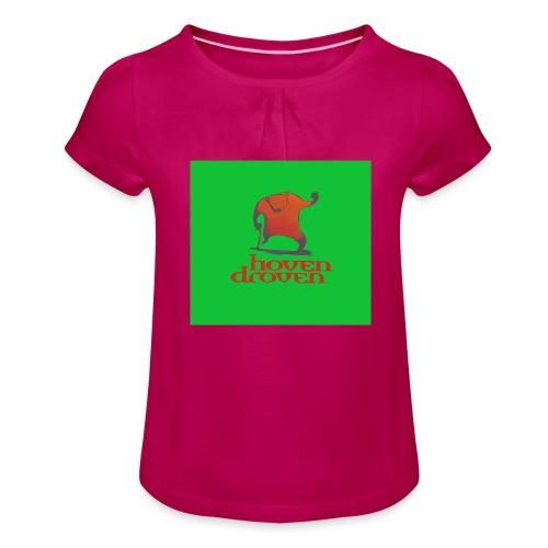 Slentbjenn Knapp - Girl's T-Shirt with Ruffles