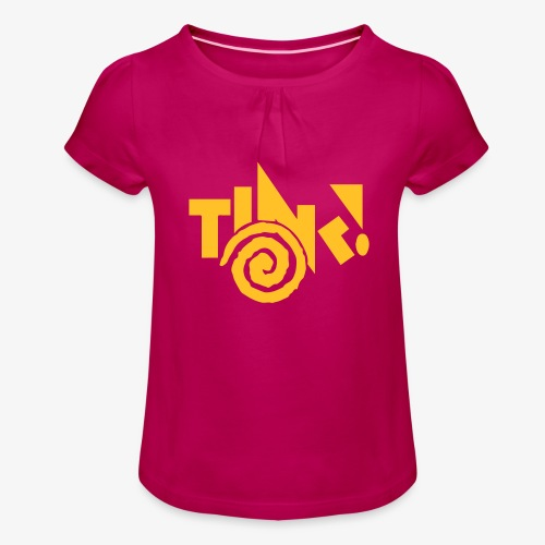 TINK! Records Legacy - Girl's T-Shirt with Ruffles