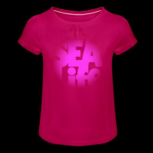 Sealife surfing tees, clothes and gifts FP24R01B - Tyttöjen t-paita, jossa rypytyksiä