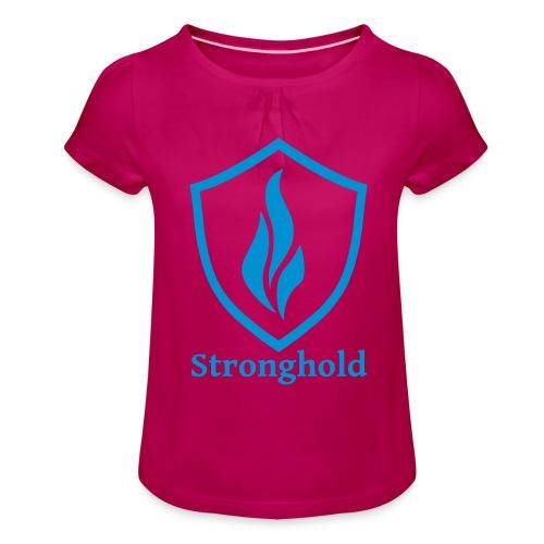 Stronghold.Clothing Brand - Mädchen-T-Shirt mit Raffungen