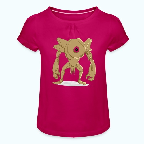 Cyclops - Girl's T-Shirt with Ruffles