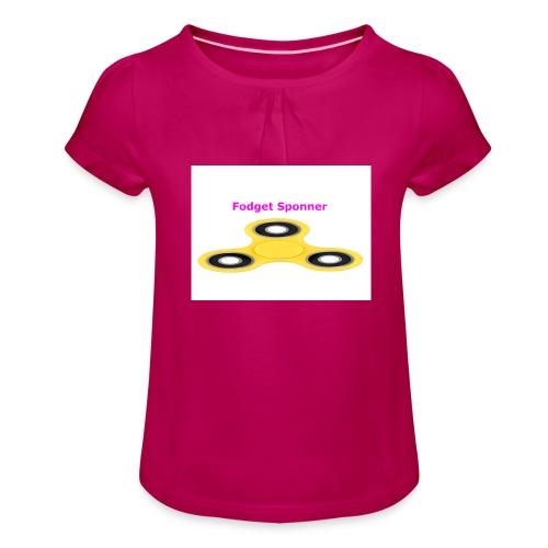 sponner - Jente-T-skjorte med frynser