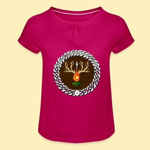 Médaillon de Neved - T-shirt à fronces au col Fille