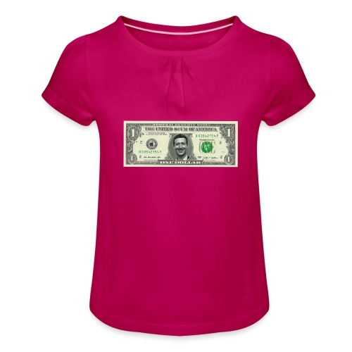 United Scum of America - Girl's T-Shirt with Ruffles