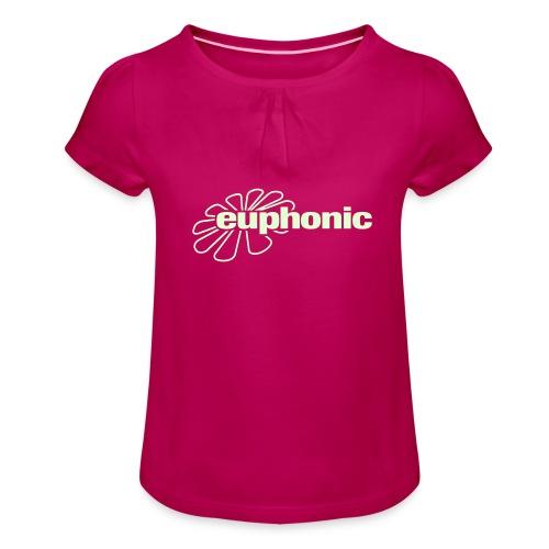 logo euphonic - Girl's T-Shirt with Ruffles