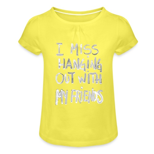 by Rene Holm - Pige T-shirt med flæser