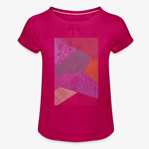 Minimaliste 2 - T-shirt à fronces au col Fille