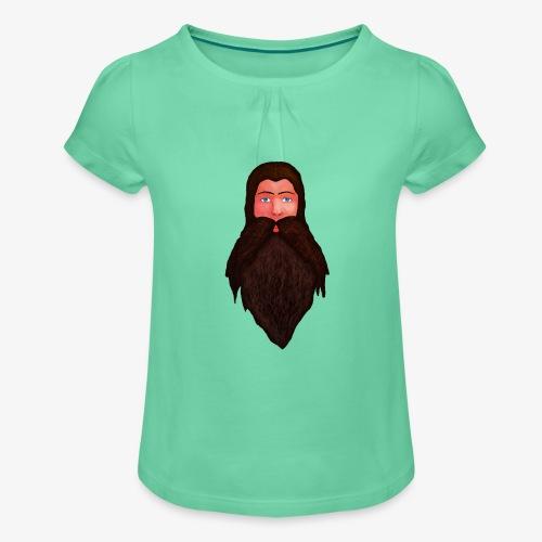 Tête de nain - T-shirt à fronces au col Fille