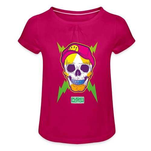 header1 - Girl's T-Shirt with Ruffles