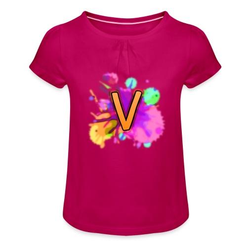VEXO - Girl's T-Shirt with Ruffles