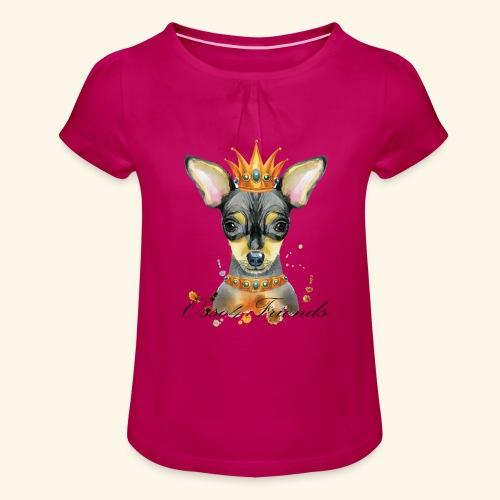 LADY PINCHER - Maglietta da ragazza con arricciatura
