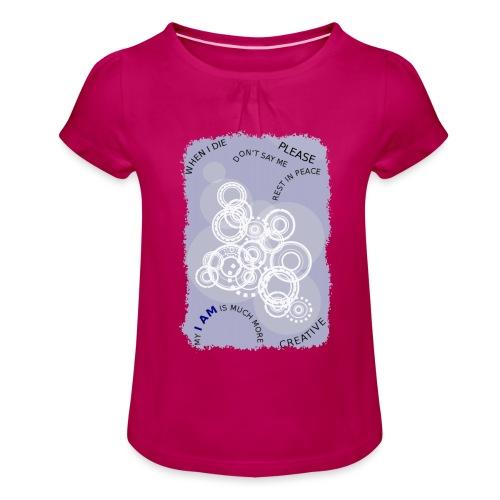 I AM MUCH MORE (donna/woman) - Maglietta da ragazza con arricciatura