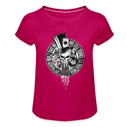 Kabes Heaven & Hell T-Shirt - Girl's T-Shirt with Ruffles
