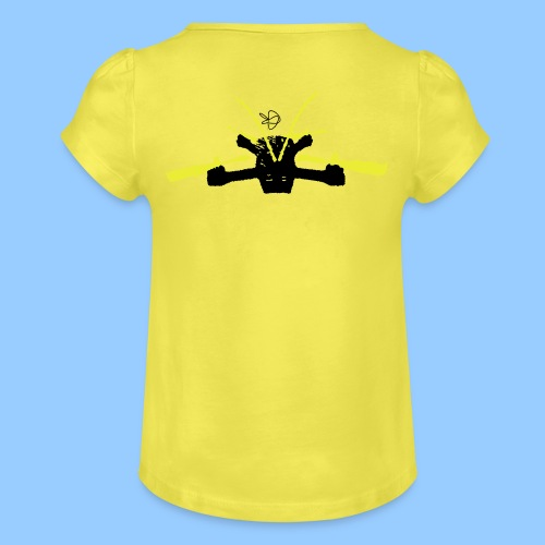 ET160 - Girl's T-Shirt with Ruffles