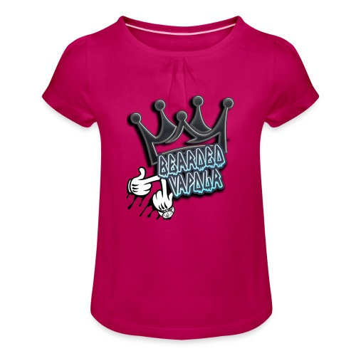 all hands on deck - Girl's T-Shirt with Ruffles