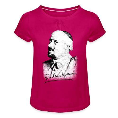 Débardeur Femme - Guillaume Apollinaire - T-shirt à fronces au col Fille