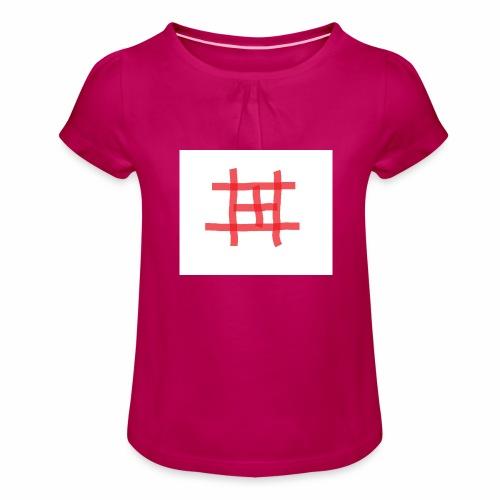 taulu 3 - Tyttöjen t-paita, jossa rypytyksiä