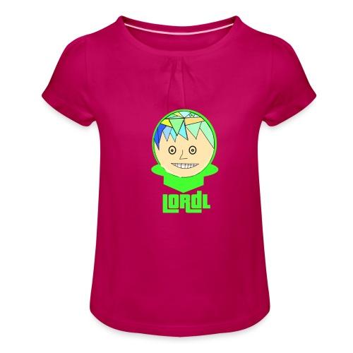 Lord L Comic - Mädchen-T-Shirt mit Raffungen