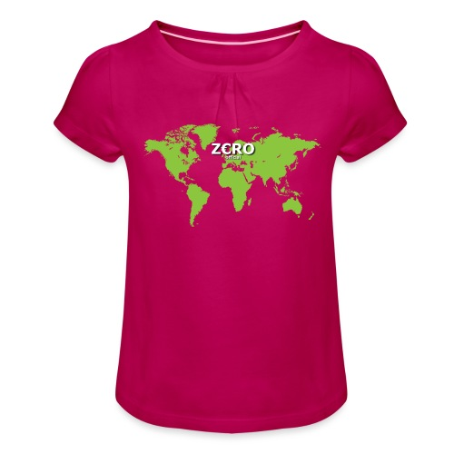 World Z€RO official - Girl's T-Shirt with Ruffles