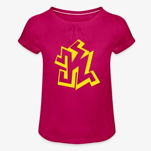 kseuly png - T-shirt à fronces au col Fille