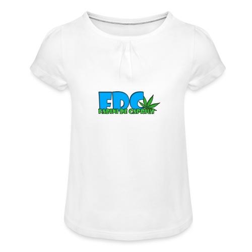 Logo_Fabini_camisetas-jpg - Camiseta para niña con drapeado