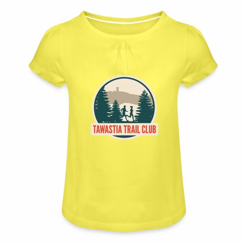 TawastiaTrailClub - Tyttöjen t-paita, jossa rypytyksiä