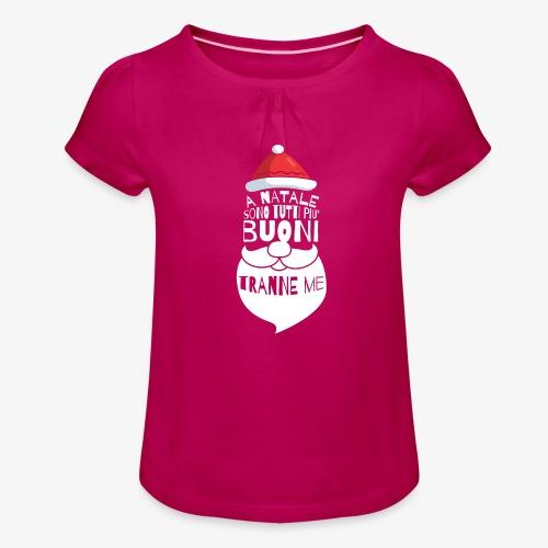 Il regalo di Natale perfetto - Maglietta da ragazza con arricciatura