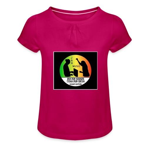 Deb Dub & Titan Dub Siren - Girl's T-Shirt with Ruffles