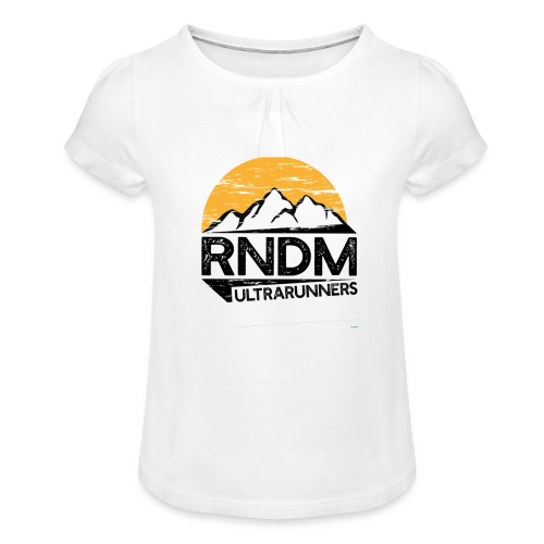 RndmULTRArunners T-shirt - Girl's T-Shirt with Ruffles