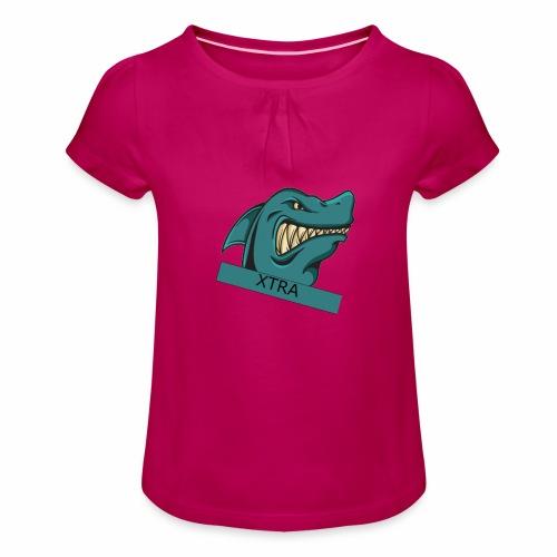 Xtra - Pige T-shirt med flæser