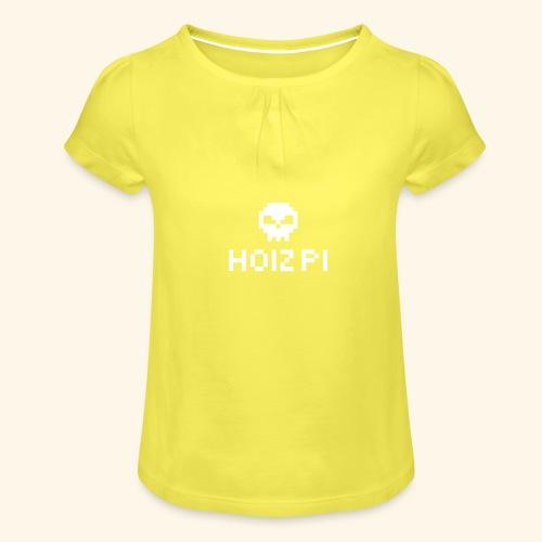 HoizPi - Mädchen-T-Shirt mit Raffungen