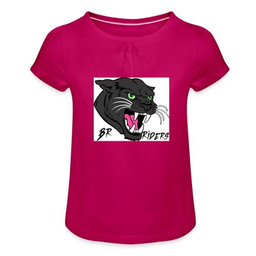 BR Riders - Pige T-shirt med flæser